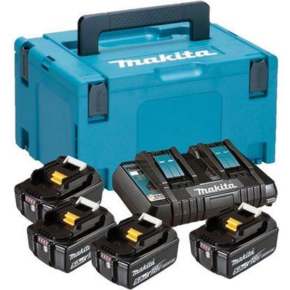 Слика на Сет Ли-Ион батерии и полнач, МАКРАС 3 куфер