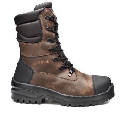 Picture of Ѕ3 Заштитни кожни обувки високи црни заварува/40